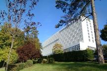 vue de l'hôpital de Villeneuve saint-georges