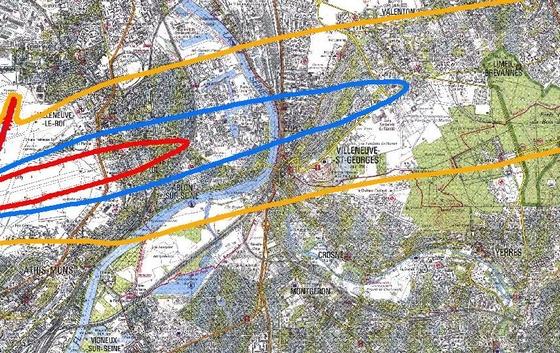 Plan Gene Sonore Aeroport-Orly-Villeneuve-Saint-Georges